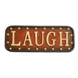 LAUGH Wall Word Sign