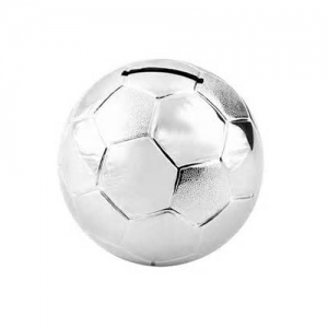 sliver football money boxes